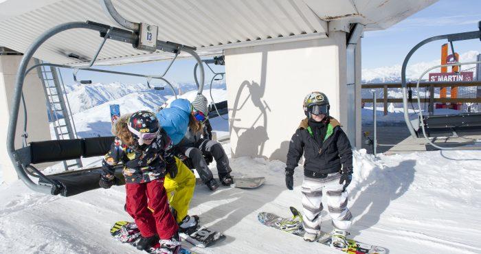 Skilift in Saint Martin de Belleville