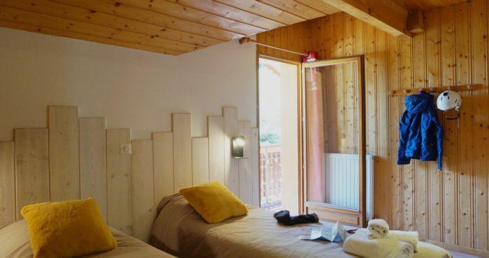 Chalets-Lacuzon Snow Valley chambre double avec balcon