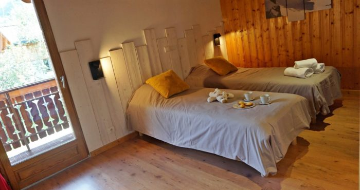 Chalets-Lacuzon Snow Valley chambre twin